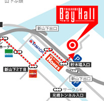 BayHall ACCESS MAP
